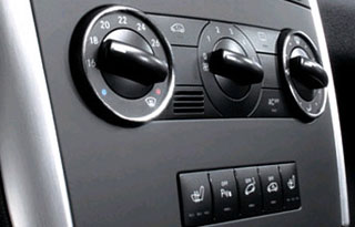 airconditioning bedieningsconsole